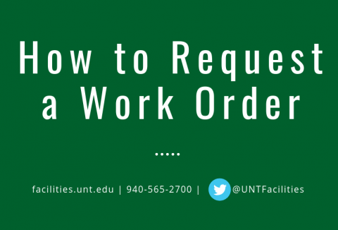 How to Request a Work Order