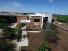 Photo of exterior of the new UNT Biomedical Engineering Building
