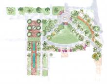 Hurley Administration Landscape Project Rendering